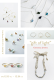 """gift of light""Christmas Jewelry"